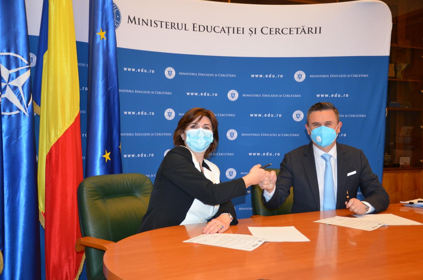 Colaborare MEC – Agenţia Anti-Doping pentru promovarea sportului curat