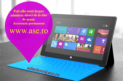 ASE își așteaptă candidații la admitere la licență!