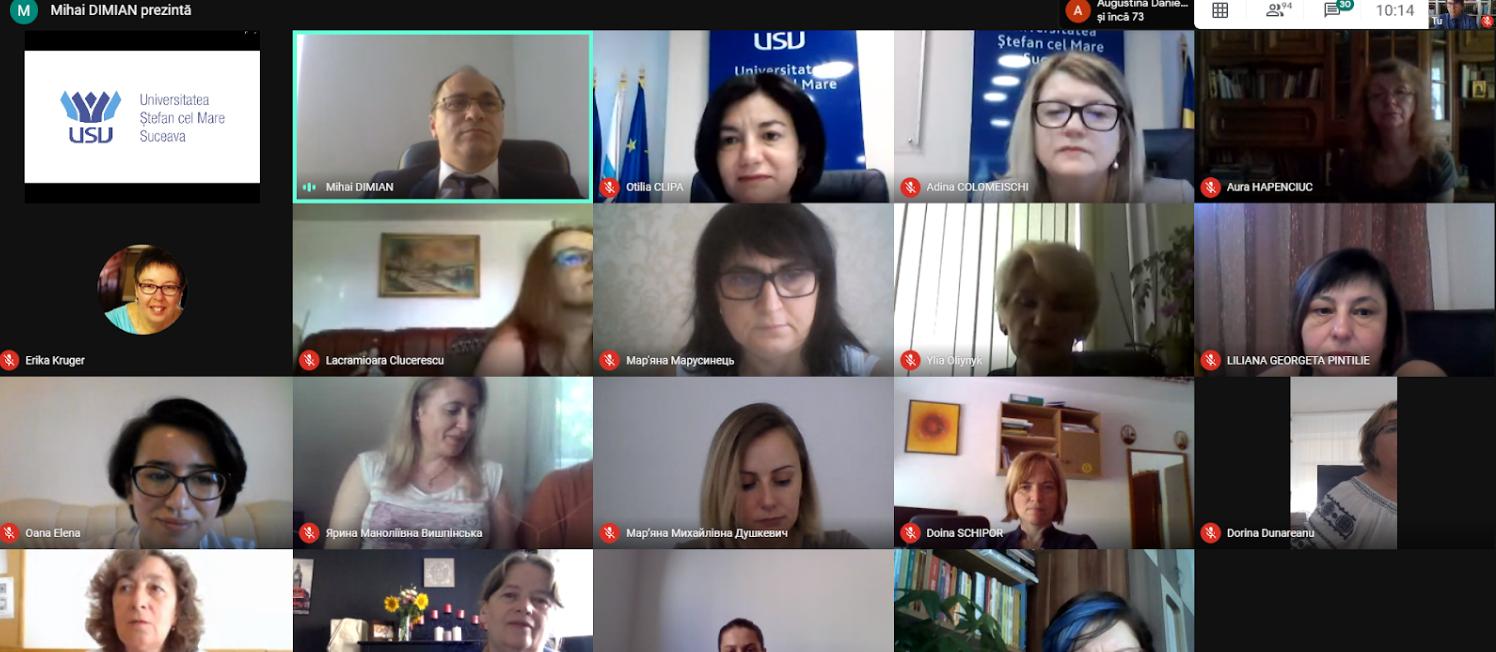 """Conferință ATEE organizată online de Universitatea """"Ștefan cel Mare"""" din Suceava"""