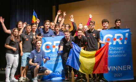 Echipa de Robotică a României a obţinut locul întâi la Campionatul Internaţional de la Chicago