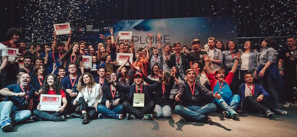 Au fost stabiliţi câștigătorii competiției BRD FIRST Tech Challenge Romania