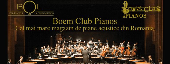 Boem Club Pianos, lider pe piata pianelor acustice din Romania
