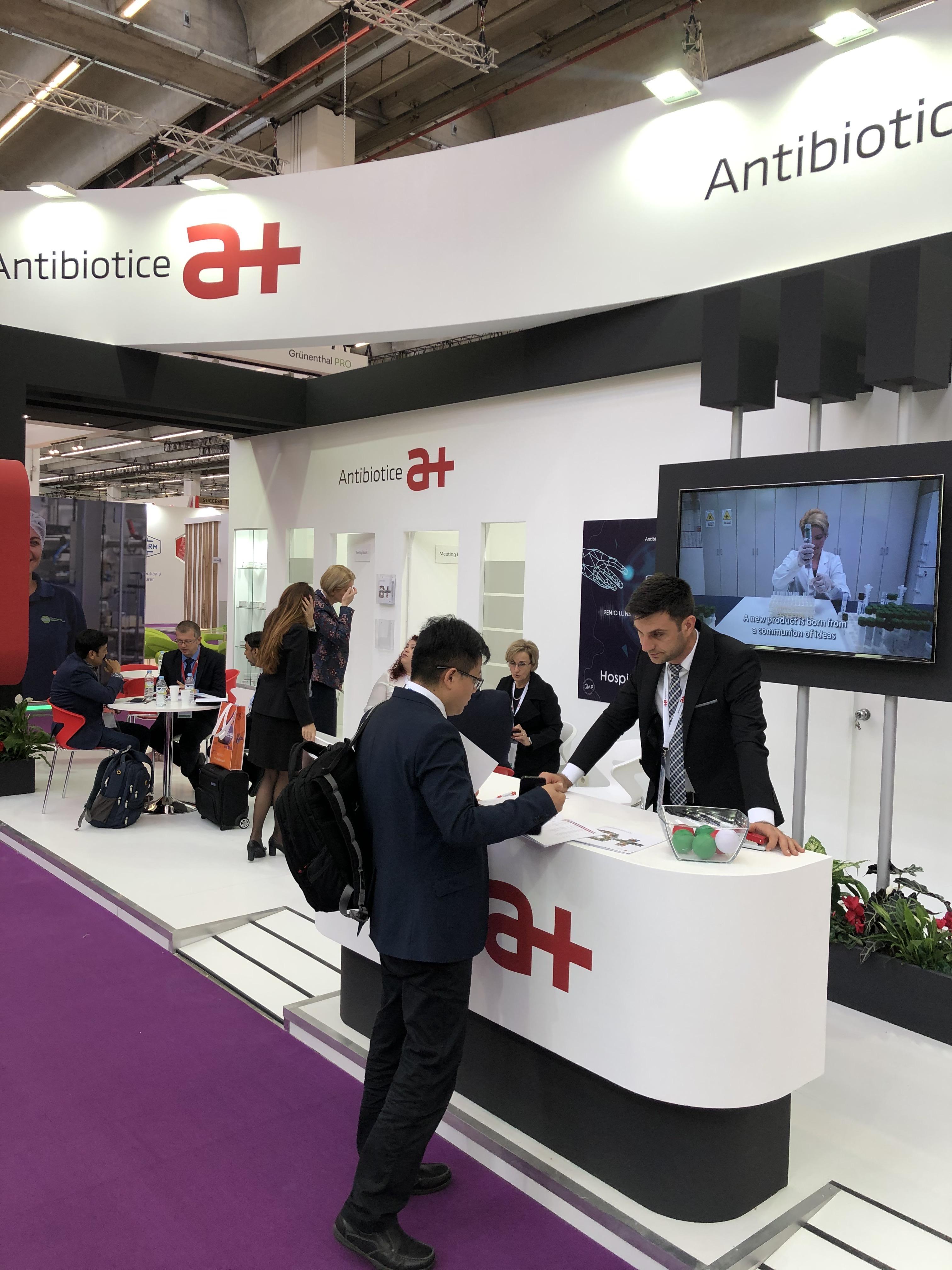 CPHI Worldwide 2019: Noi oportunități de afaceri pentru Antibiotice