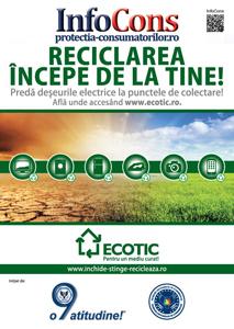 ECOTIC si InfoCons: Un nou parteneriat pentru un mediu curat