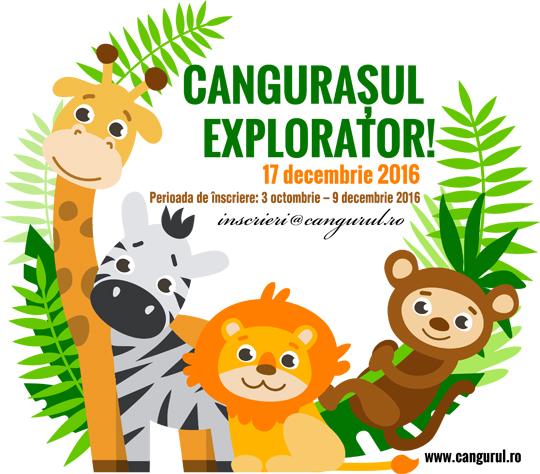 Cangurașul Explorator – pentru cei mai mici voinici!