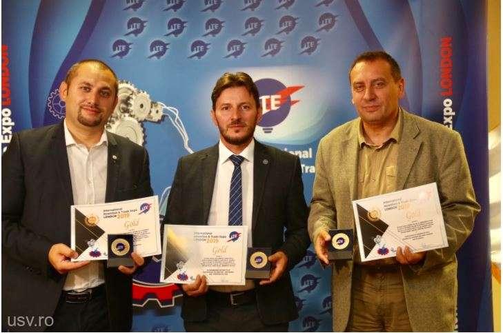 USV a câştigat o medalie de platină şi patru de aur la Salonul de inventică ITE de la Londra