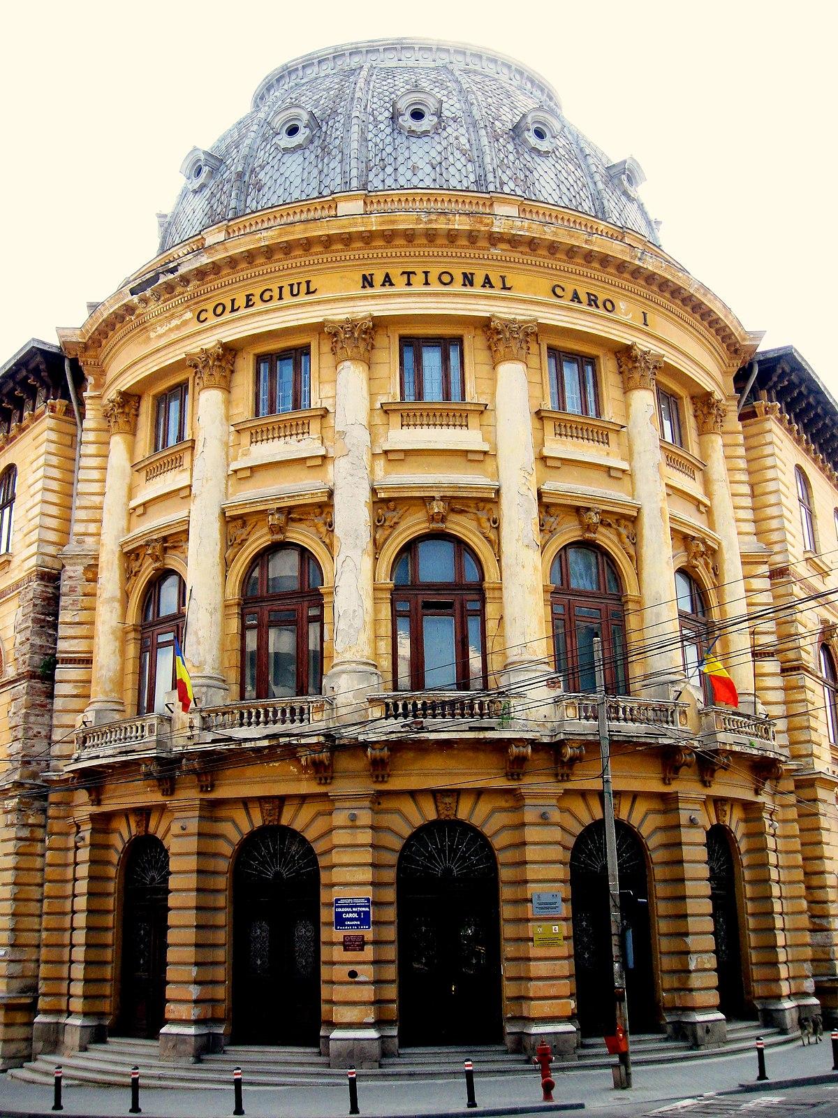 """Colegiul Naţional """"Carol I"""" din Craiova a sărbătorit online 194 de ani de  existenţă"""