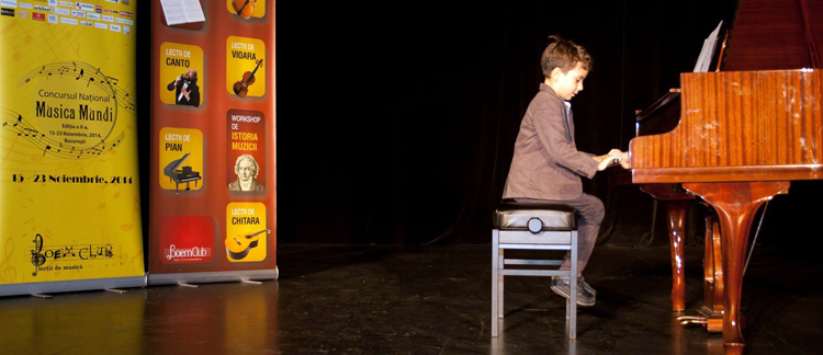 Inscrieri prelungite la Concursul de pian cu cele mai mari premii din tara