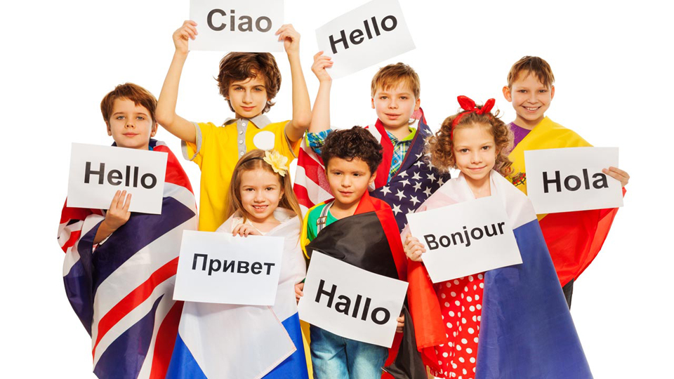 Cursuri vesele de limbi străine pentru copii, în centrul Bucureștiului