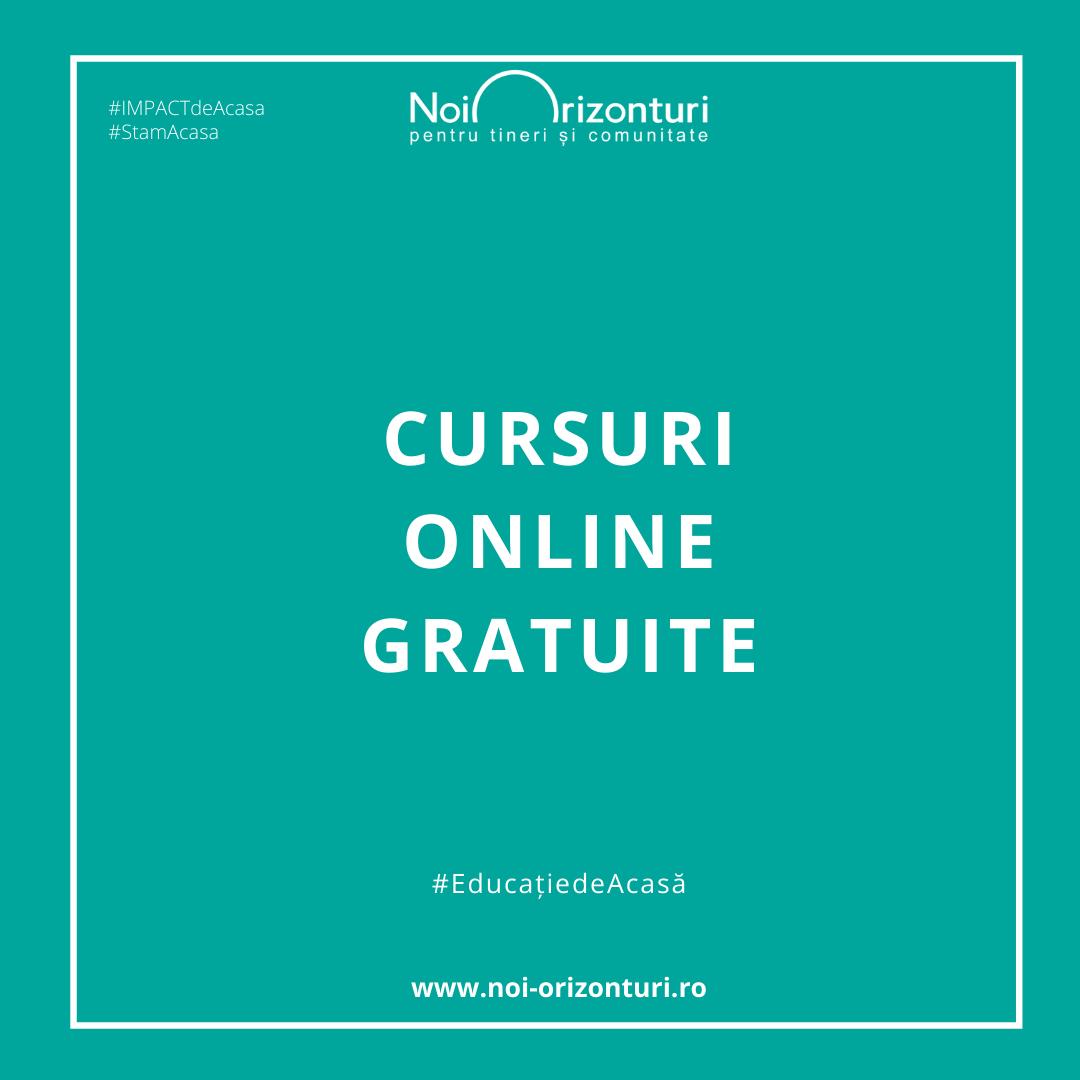 Peste 1300 de profesori și elevi urmează cursuri online, unice în România