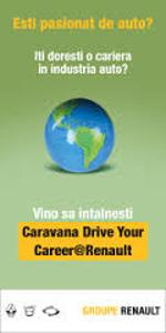 """Caravana """"Drive Your Career@Renault"""" a ajuns în 12 universităţi din România"""