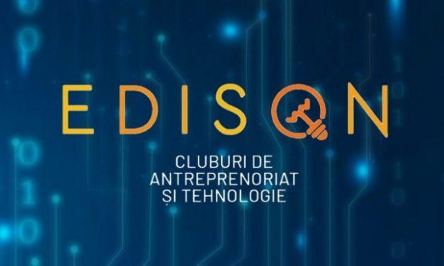 Cluburi de antreprenoriat și tehnologie pentru elevi prin proiectul EDISON