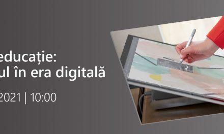 Inovație în educație: Învățământul în era digitală este tema întâlnirii organizată de Microsoft pe 16 septembrie