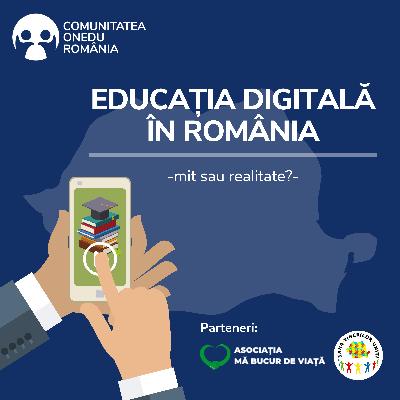 """Conferință online """"Educația digitală – mit sau realitate"""""""