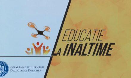 """Proiectul """"Educaţia pentru dezvoltare durabilă la înălţime"""", extins la nivel naţional"""