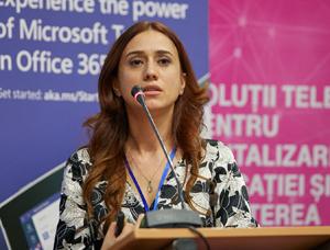 Emiliana Dovan, Adservio: Catalogul electronic reduce birocrația și crește performanțele elevilor