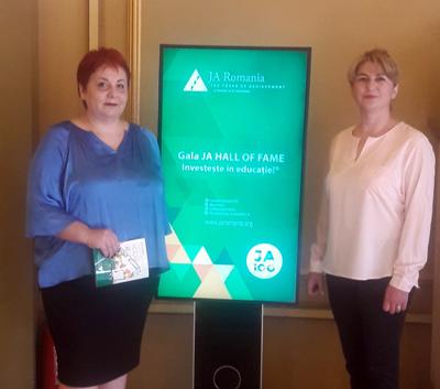 """Entrepreneurial School Award 2019, distincție acordată Colegiului Tehnic C.F. """"Unirea"""" din Pașcani"""