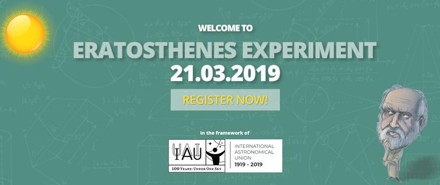 Eratosthenes Experiment – 21.03.2019, învățarea pe bază de proiect
