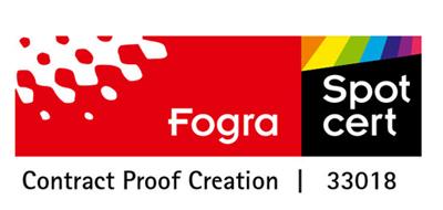 Calitatea produselor Global Print este din confirmată de standardul FOGRA, cea mai importantă certificare din industria tipografică mondială