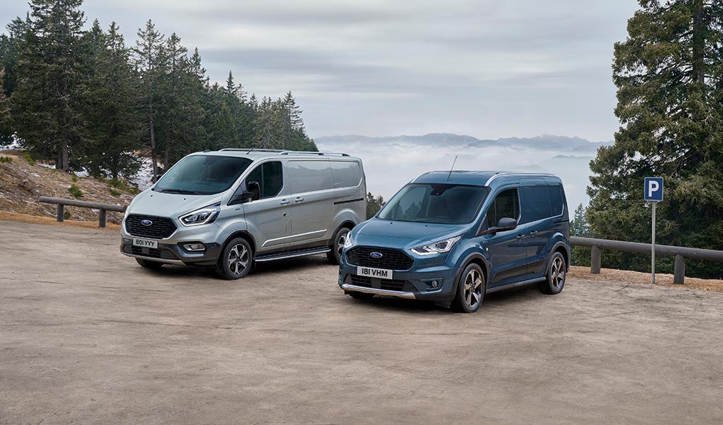 Ford prezintă noile Tourneo și Transit Connect Active, destinate clienților cu un stil de viață aventuros