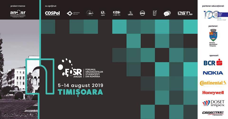 Peste 500 de lideri ai studenţilor din 19 centre universitare participă la Forumul Organizaţiilor Studenţeşti din România