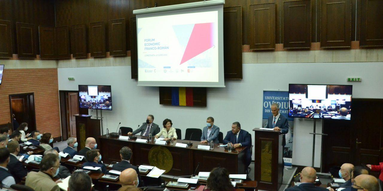 Peste 200 de participanţi la un Forum economic franco-român, găzduit de Universitatea Ovidius din Constanţa
