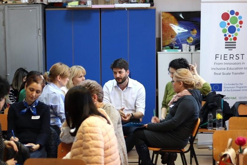Peste 30 de directori de școli s-au întâlnit în cadrul proiectului From Inclusive Education To Real Scale Transfer