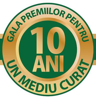Gala Premiilor Pentru Un Mediu Curat dă startul celei de-a 10-a ediții