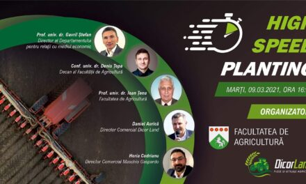 Webinar pe tema importanței preciziei în agricultură organizat de USAMV Iași