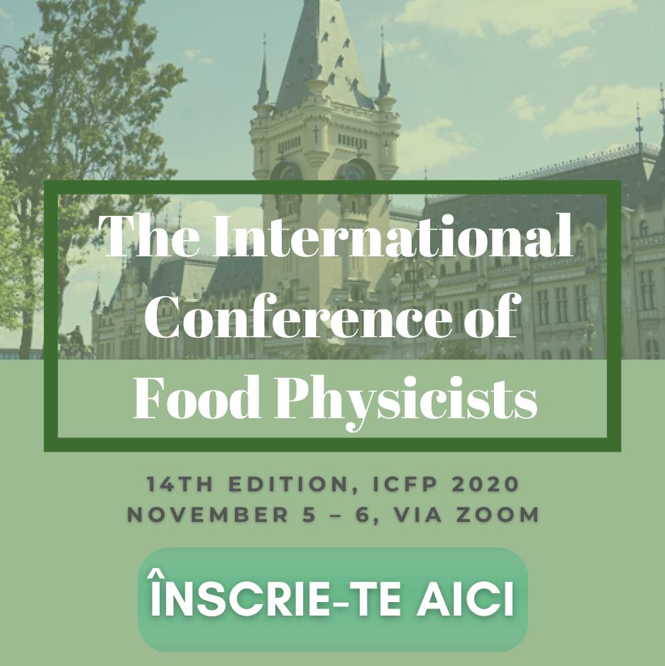 Conferință internațională on-line despre fizica și chimia alimentelor la USAMV Iași