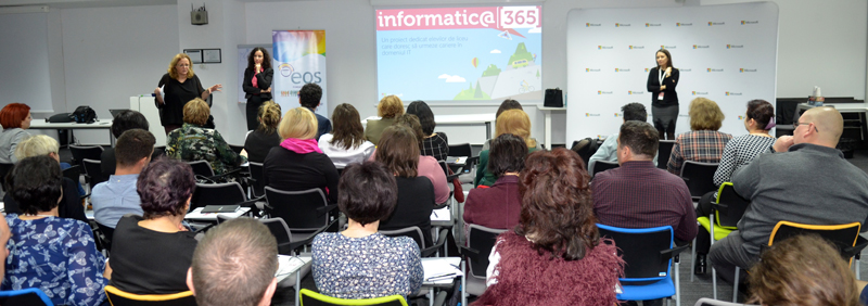 Informatic@365 – Un proiect dedicat elevilor care doresc să urmeze cariere în domeniul IT