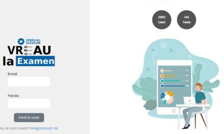 Platformă de e-learning pentru elevii care susţin Bacalaureatul sau Evaluarea Naţională, lansată