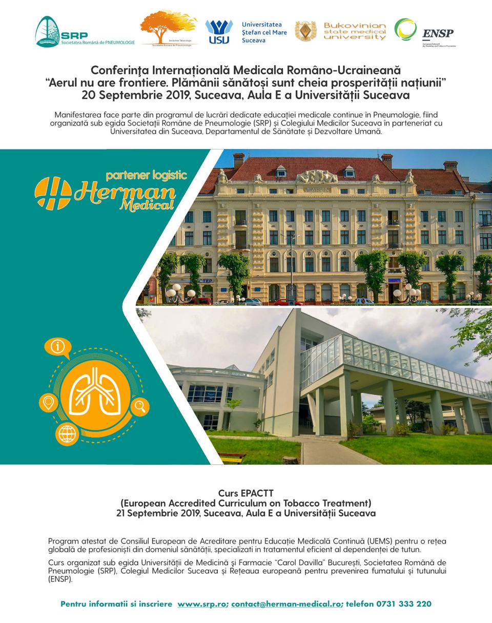 """Conferința Medicală Româno-Ucraineană cu participare internațională, la Universitatea """"Ștefan cel Mare"""" din Suceava"""