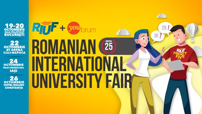 Universităţi din top 100 mondial sunt prezente la RIUF