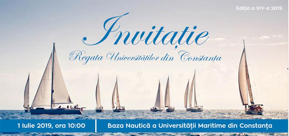 Regata Universităților din Constanța are loc pe 1 iulie
