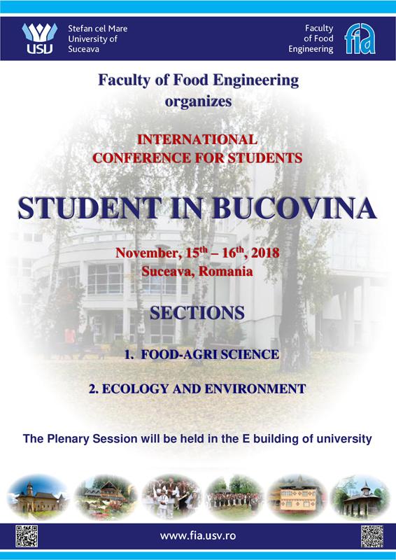 """11 universităţi din ţară şi străinătate participă la Conferinţa """"Student în Bucovina"""", de la Suceava"""
