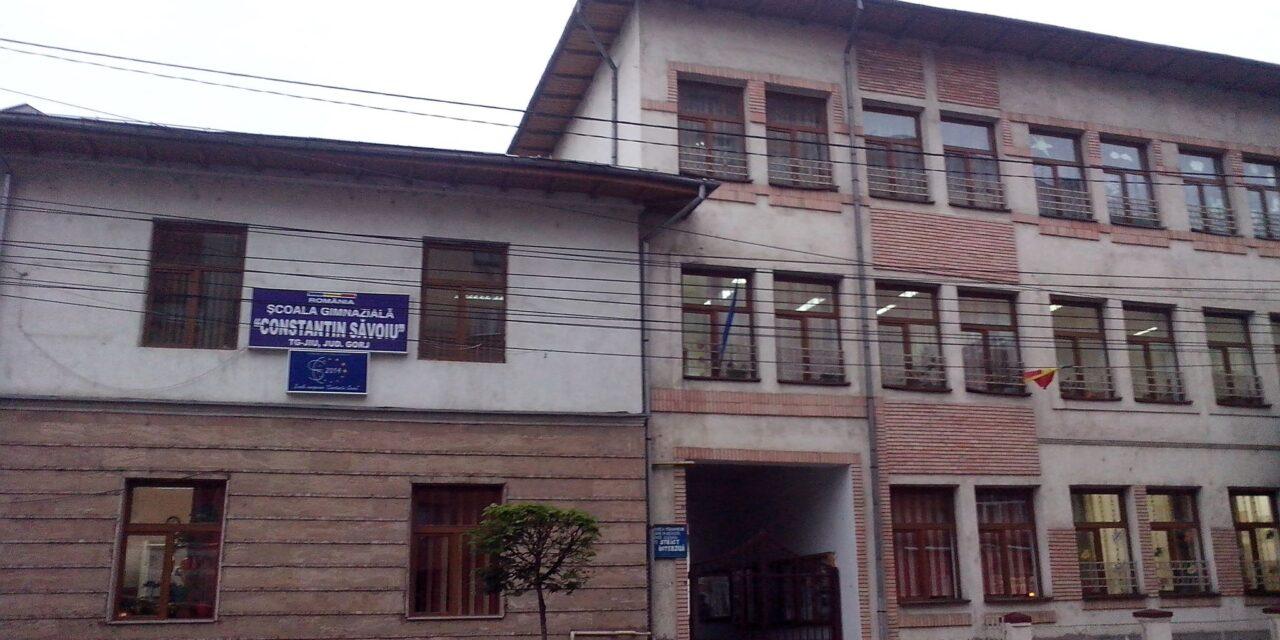 Şcoala Gimnazială 'Constantin Săvoiu' din Târgu Jiu va fi reabilitată cu 1,5  milioane de euro