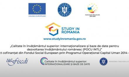 Clip de promovare a învăţământului superior românesc în afara ţării, lansat de Ministerul Educaţiei