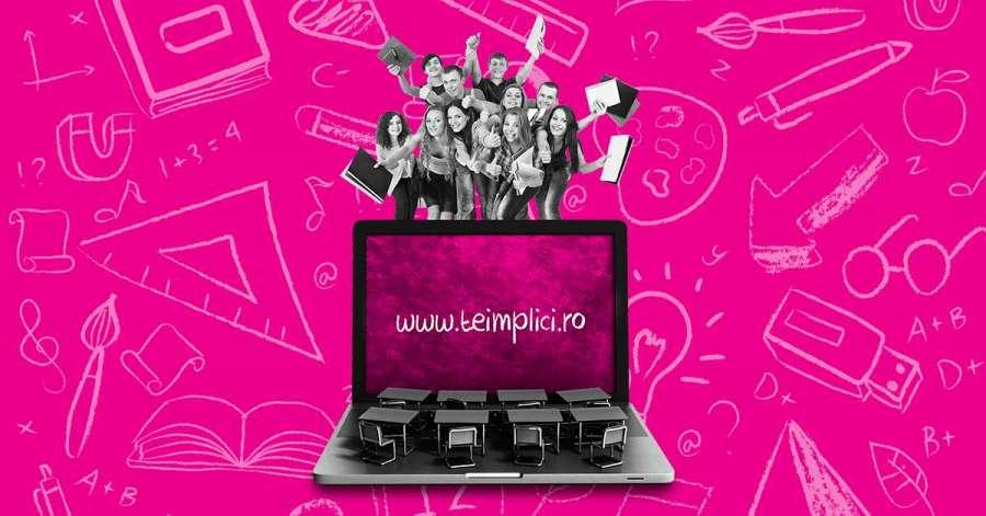 Telekom Romania lansează a patra ediţie a proiectului Teimplici.ro, prin care susţine iniţiative de reducere a abandonului şcolar