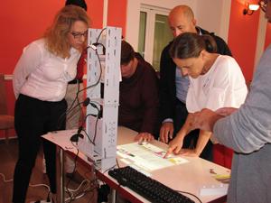 Training româno-elen dedicat specialiștilor în educația elevilor cu dizabilități vizuale