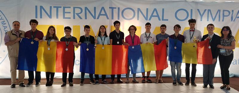 Olimpicii români au luat 12 premii la Olimpiada Internaţională Pluridisciplinară Tuymaada 2017
