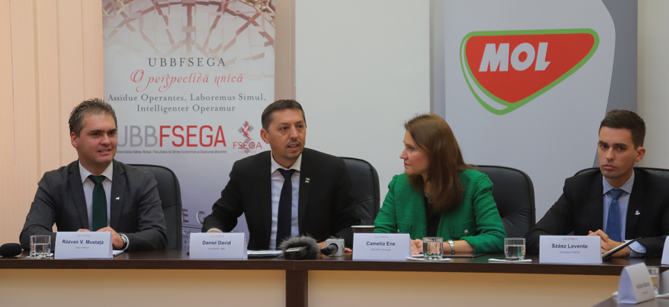 Universitatea Babeș-Bolyai și MOL România au încheiat un parteneriat pentru susținerea unui învățământ universitar modern