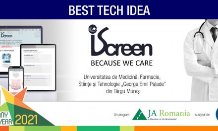 Studenţii UMFST Târgu Mureş au câştigat Best Tech Idea Award pentru un proiect digital health