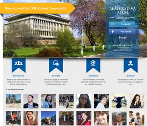 Universitatea Politehnica din Bucureşti a lansat Platforma Comunităţii Alumni