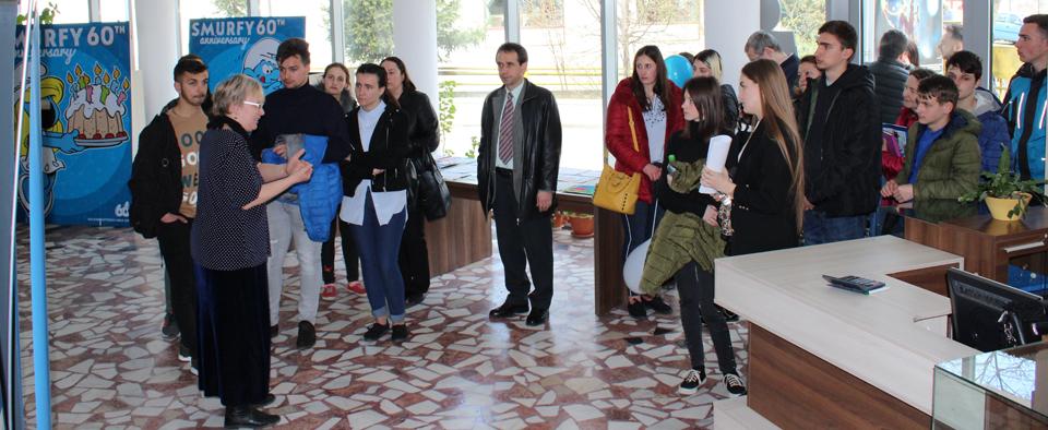 """La USV a avut loc prima etapă a Concursului """"Student pentru 1 zi"""""""