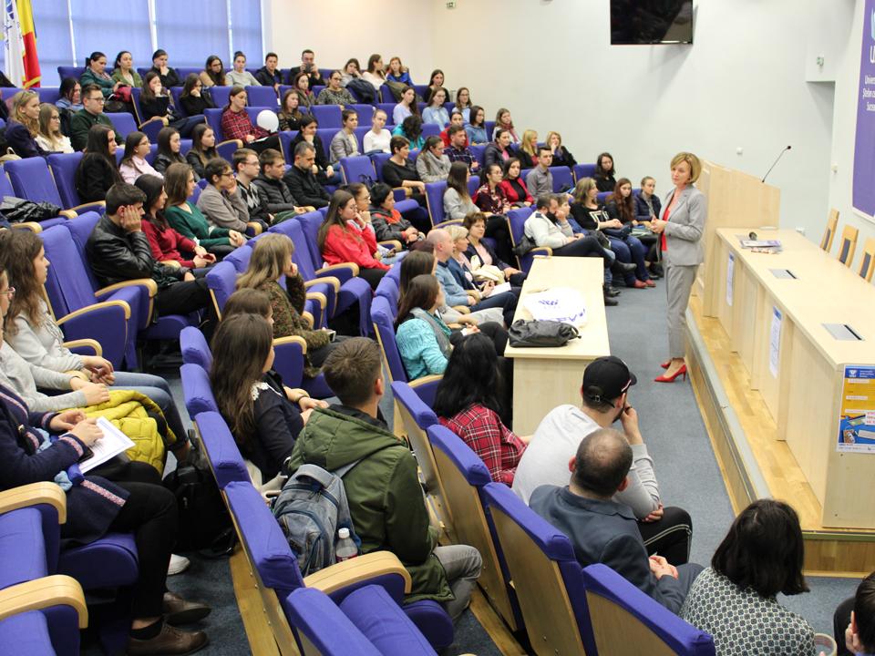 """Concursul """"Student pentru 1 zi"""" a continuat cu cea de-a doua etapă la Universitatea """"Ștefan cel Mare"""" din Suceava"""