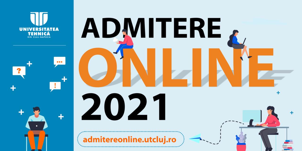 Universitatea Tehnică din Cluj-Napoca a relansat platforma de înscrieri la admitere