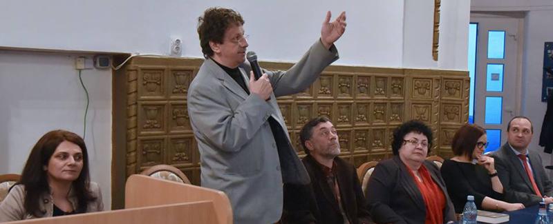 """Simpozion """"În lumea lui Comenius – sisteme eficiente de educație"""", la UVVG Arad"""