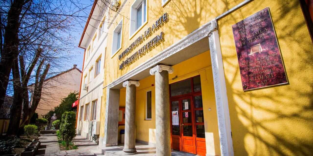 Universitatea de Arte din Târgu Mureş a reluat cursurile practice cu studenţii