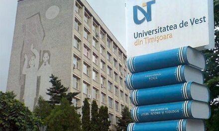 UVT va începe activităţile didactice din noul an universitar cu prezenţă fizică